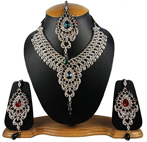 Indian Traditional Designer Kundans Necklace Set with Ear... https://www.amazon.ca/dp/B06XVPKKHG/ref=cm_sw_r_pi_dp_x_Lfl2ybKAQ5940