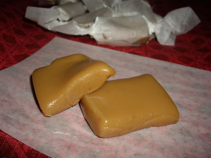 Soft caramels. I can't wait to cheat on my diet with these babies.