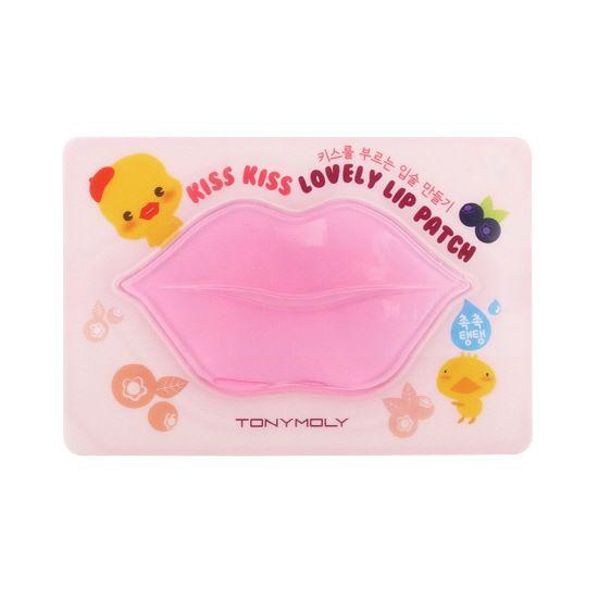 Kiss Kiss Lovely Lip Patch - Маска-патч для губ интенсивно питает и увлажняет нежную кожу губ, содержит в составе экстракты ягод (шиповник, черника, голубика, клубника). Устраняет шелушение и ощущение сухости и стянутости кожи. Маска разглаживает морщинки вокруг губ, обладает антиоксидантным действием, улучшает микроциркуляцию, делает кожу губ мягкой и гладкой.
