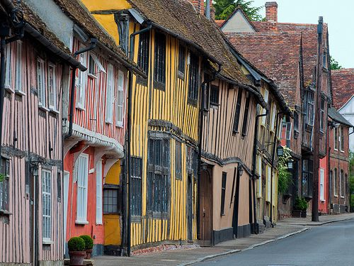 Lavenham in Suffolk ..... Godrick's Hollow in Harry Potter and the ever lasting camping trip!! (DHP2)