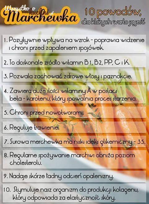 Marchewka... 10 powodów, dla których warto ją jeść!!!