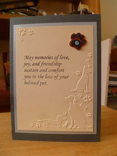 Pet sympathy card for dog                                                                                                                                                                                 More