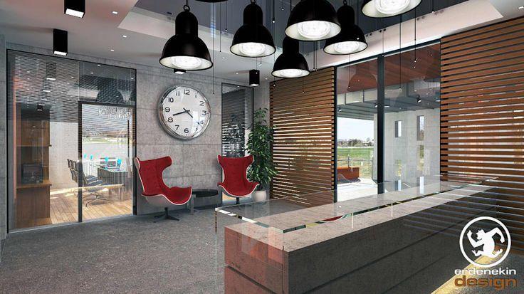 Erden Ekin Design – Ofis Girişi:  tarz Ofis Alanları