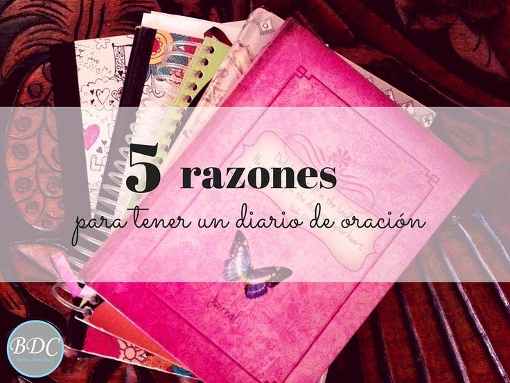 5 razones para tener un diario de oración.