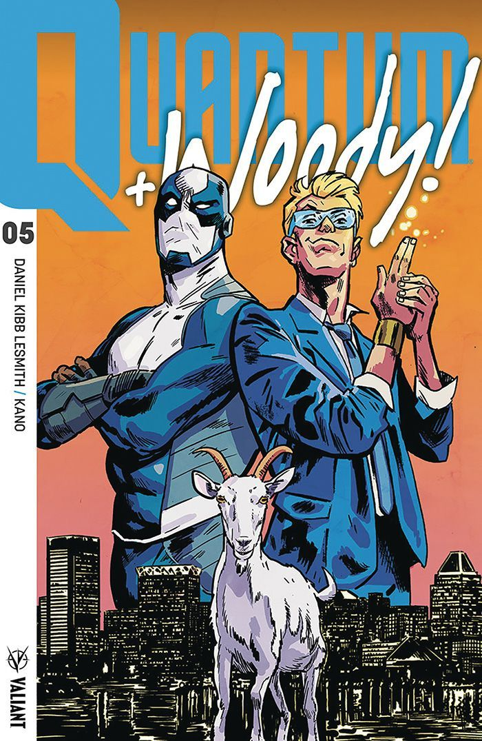 Valiant Entertainment Comics for April 18th, 2018