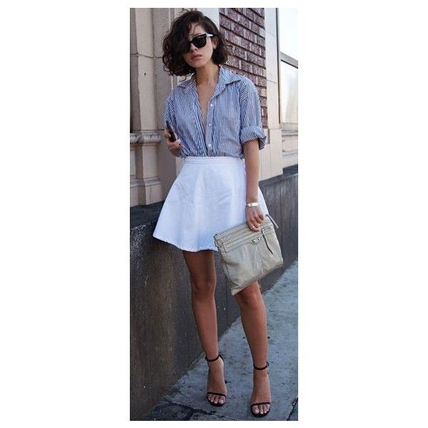 20 Style Tips On How To Wear Skater Skirts In The Winter Gurl ❤ liked on Polyvore featuring skirts, flared skirt, circle skirt, blue circle skirt, blue skater skirt and skater skirt