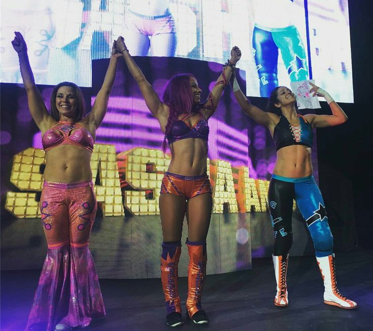Mickie James Sasha Banks & Bayley
