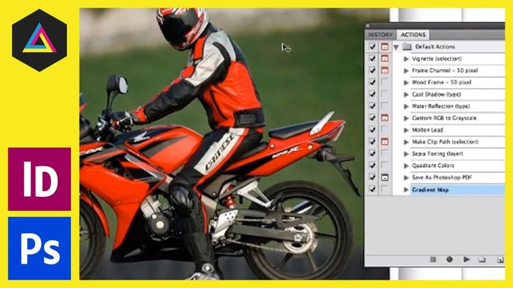 Color Profile from RGB to CMYK Photoshop Action / Image Processing In Adobe Bridge - Ep2/13 [Adobe InDe...