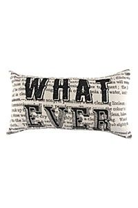 JACQUARD WHATEVER 33X60CM SCATTER CUSHION