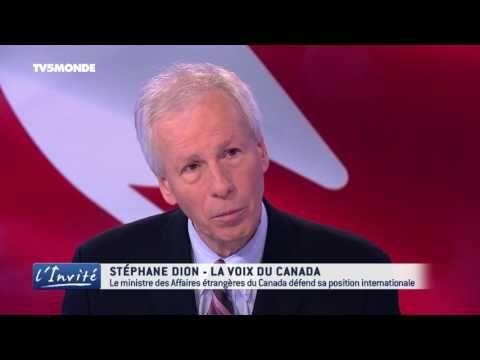 """Stéphane DION sur le CETA : """"Les canadiens ne lâchent jamais!"""""""