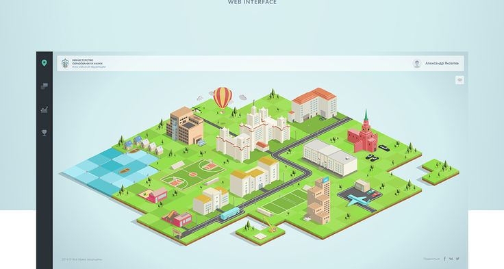 Education in Russia on Behance