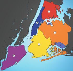 行政区 (ニューヨーク市) - Wikipedia