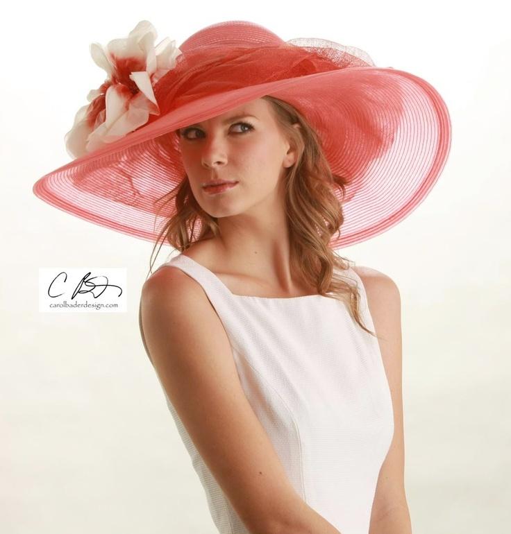 Pretty pink summer hat