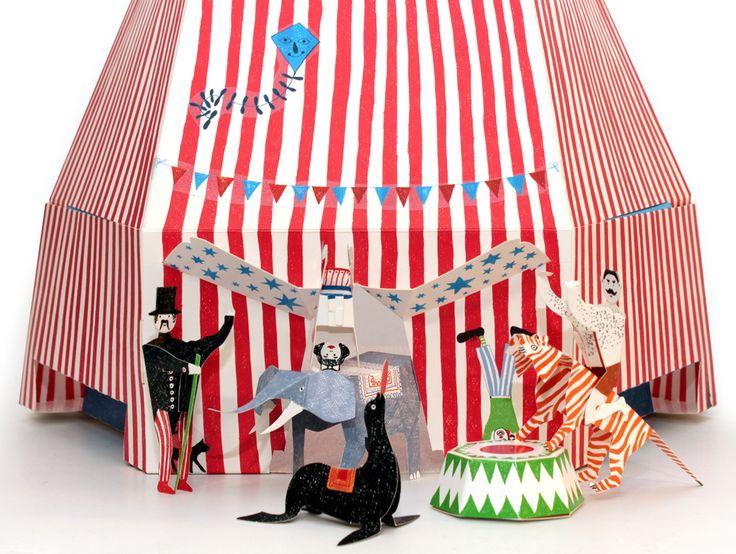 Le cirque de Hase Weiss | MilK - Le magazine de mode enfant