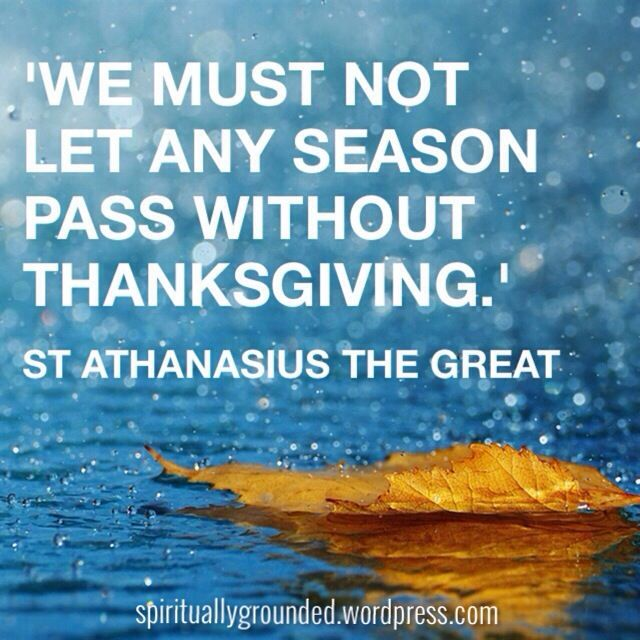 From an Easter letter by St Athanasius the Great, bishop. We keep the coming feast of the Lord through deeds, not words-. Give Thanks