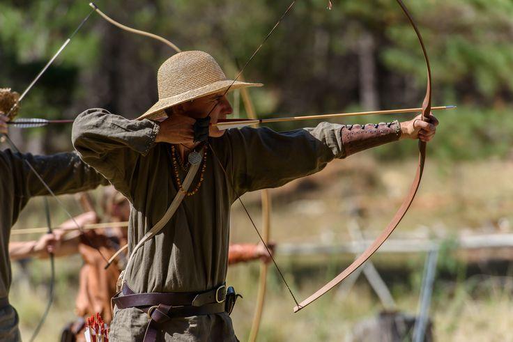 Kade on Archery range at NEMAS Gathering 2016 by Michael James