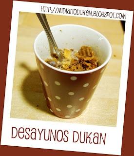 FASE ATAQUE, DESAYUNOS- Cereales Special Dukan para el desayuno