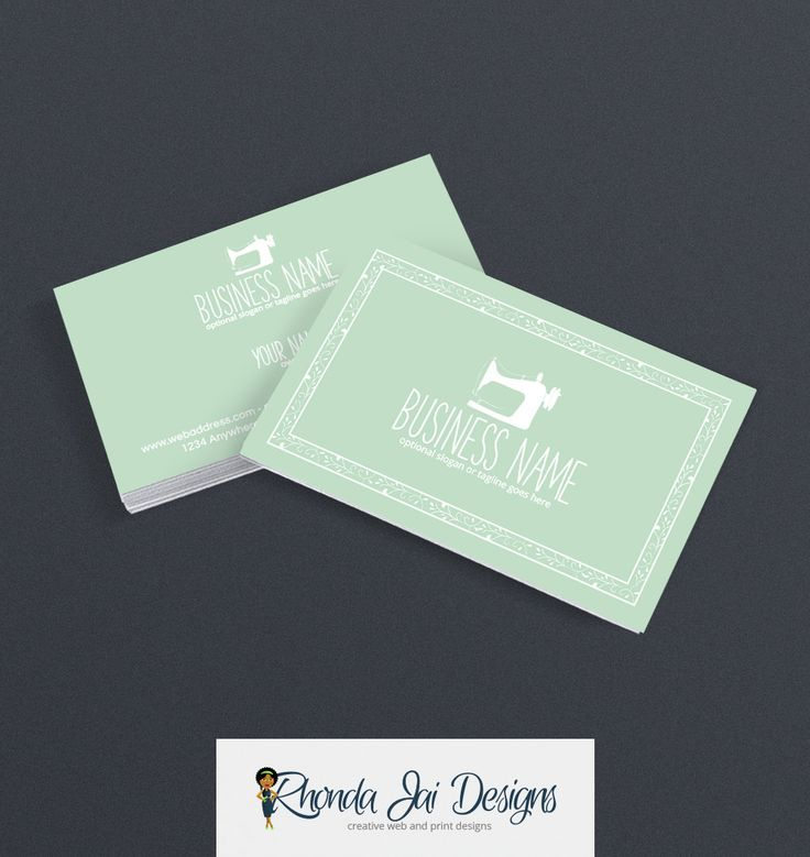 Best Sewing Themed Business Cards Images On   Blog