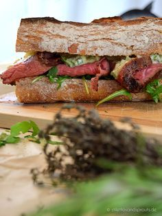 Remoulade – Roastbeef Sandwich with selfmade apple remoulade – recipe on the blog #recipe #roastbeef #sandwich #foodblogger