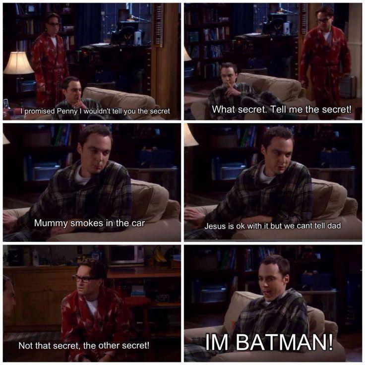 Big Bang theory Sheldon has a secret