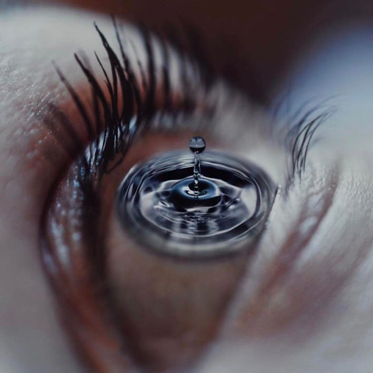 Surrealist Photography • Water Droplet • Eye • See this Instagram photo by @artzspiration • 947 likes
