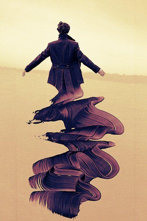 Sherlock fan art this is beautiful