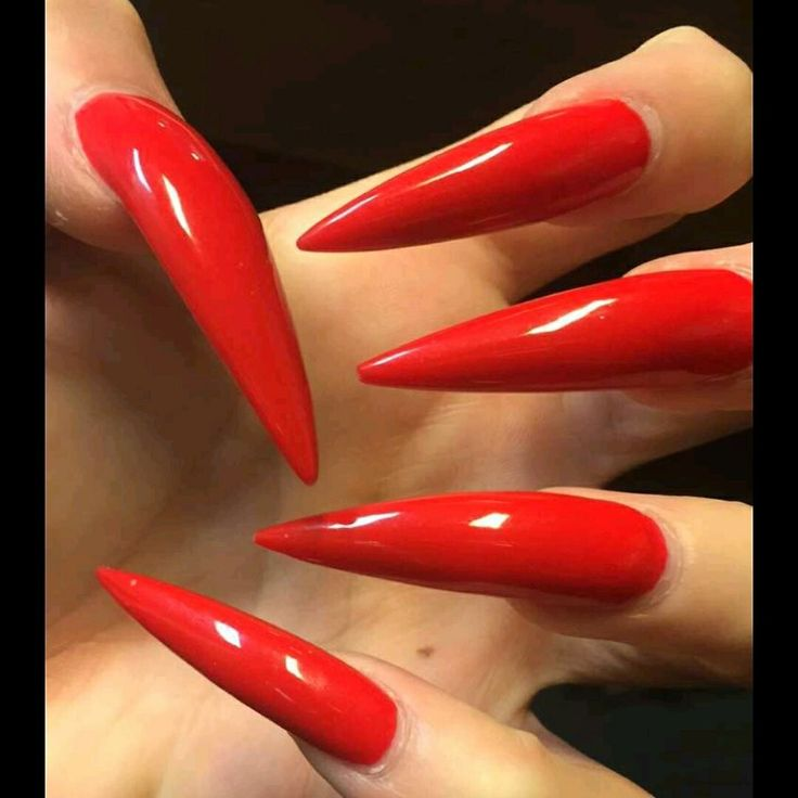 Red Stiletto Nails: 1. Double Team + Dynamicpunch Amazing