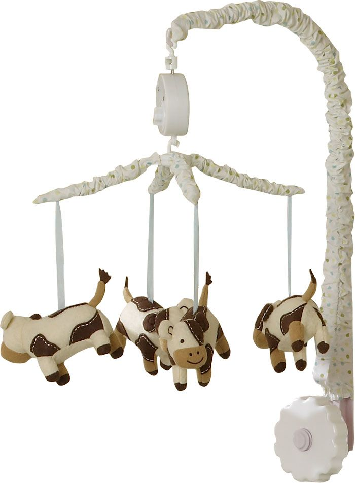 cow baby nursery | Moo Cow Musical Mobile - Moo Cow - Sumersault - FREE SHIPPING crib ...