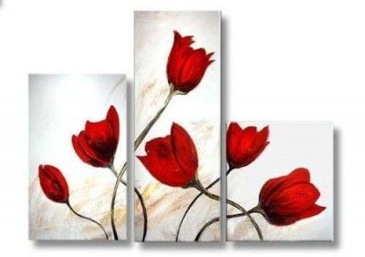 Cuadros tripticos para sala artistico cuadros pinterest for Imagenes de cuadros abstractos para habitaciones