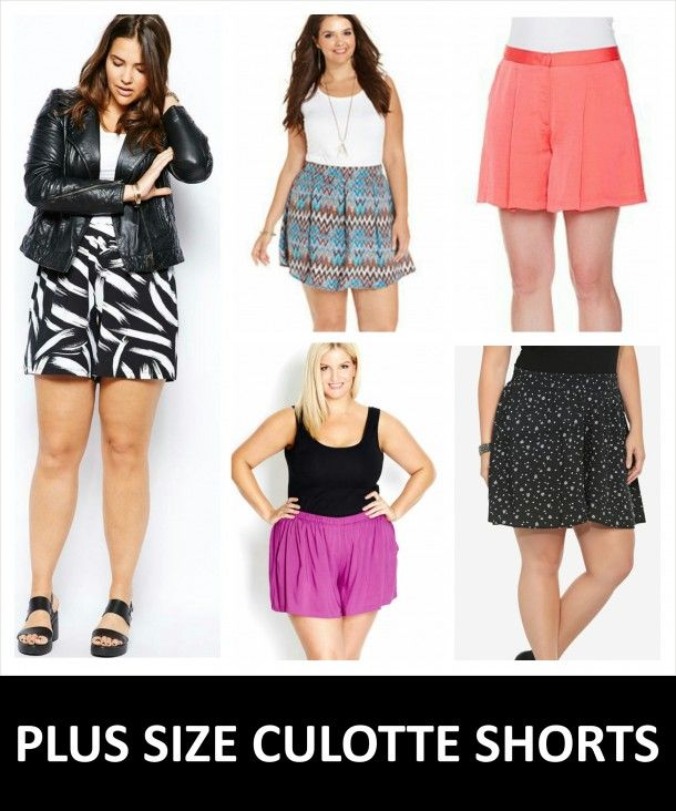 "Our City Chic Culottes were featured in a blog post from Stylish Curves ""5 REASONS WHY PLUS SIZE CULOTTE SHORTS ARE  AWESOME"" Check the post out now!"