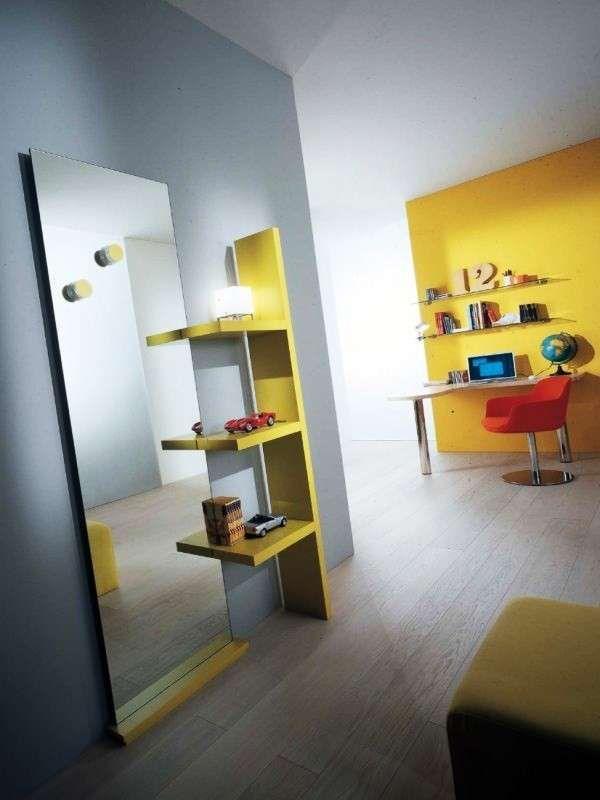 Arredare un ingresso moderno - Ingresso moderno, colori luminosi