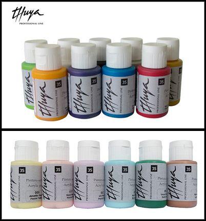 ¿Conoces todos nuestros colores de pintura acrílica para #uñas? Amarillo, verde, violeta...   http://www.thuya.com/professional/productos-tpl/nail-art/nail-art-con-acrilico/pinturas-acriicas-