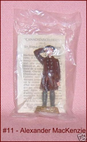 Famous Canadians Tea Premium Sir Alexander MacKenzie Number 11 Original Package #FamousCanadianSeries