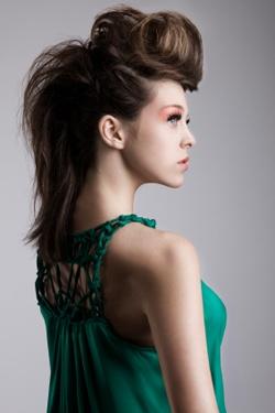 vogue hair - fashion show idea