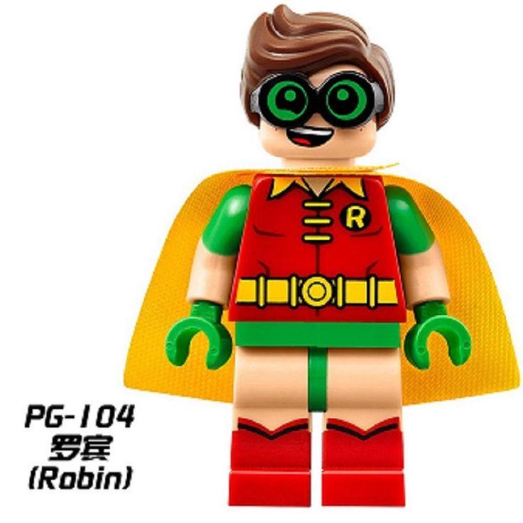 Одноместный Продажа Super Heroes Мстители Робин 2017 Фильм Бэтмен Мыс Low Rider Minifigures Строительные Блоки Игрушки для детей PG104 #CLICK! #clothing, #shoes, #jewelry, #women, #men, #hats, #watches