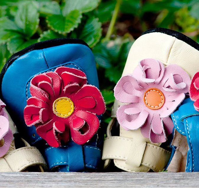 "Pantofiori Veseli: ""Nice and cool colors, flexible soles and the perfect fit for any little lady or young boy."" - #lovemark - lovelyshoes"