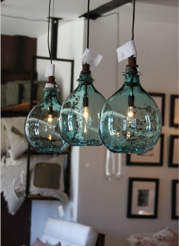 Vintage looking pendent lights