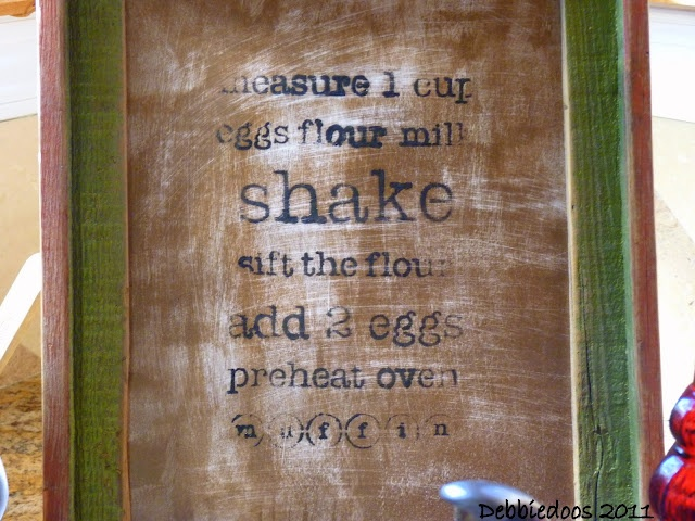 Stencil project: Art Work, Debbiedoo, Diy'S, Stencil Projects, Diy Art, Kitchens Art, Frames, Kitchen Art, Projects Diy