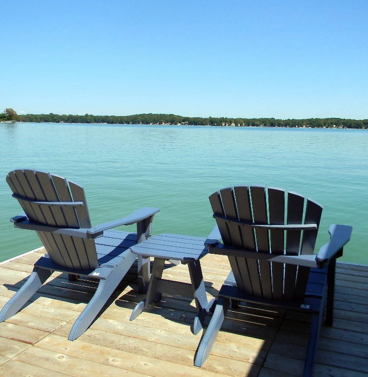 Seaside Casual Shellback Adirondack Chairs! Seaside Casual sets the standard in outdoor furniture for comfort, durability and is built to last! Seaside manufactures the most comfortable wood looking furniture you will ever sit in!