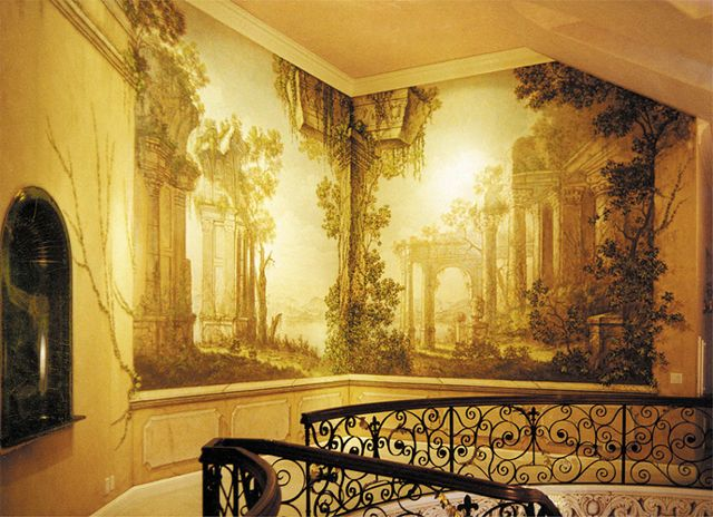 322 best images about a paint murals iv on pinterest - Trompe oeil mural ...