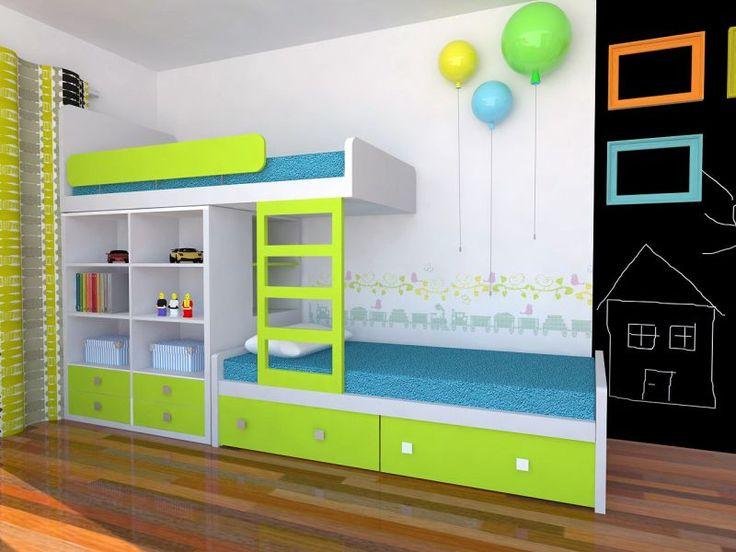 Bunk bed and Memory lamps. Łóżko piętrowe i lampy baloniki Memory. http://www.colorato.pl/meble-dzieciece-i-mlodziezowe-lozka-pietrowe-color-dream