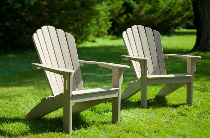 3 Must Have Composite Adirondack Chairs This Summer In 2020 Recycled Plastic Outdoor Furniture Composite Adirondack Chairs Outdoor Furniture