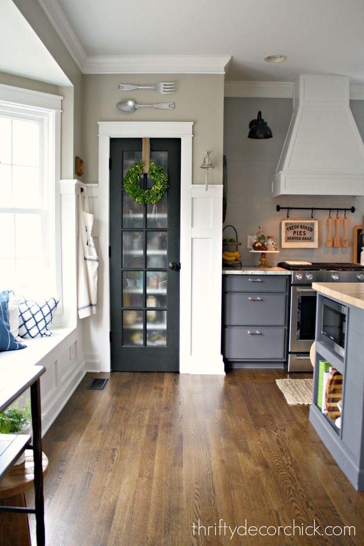 black glass pantry door                                                                                                                                                                                 More