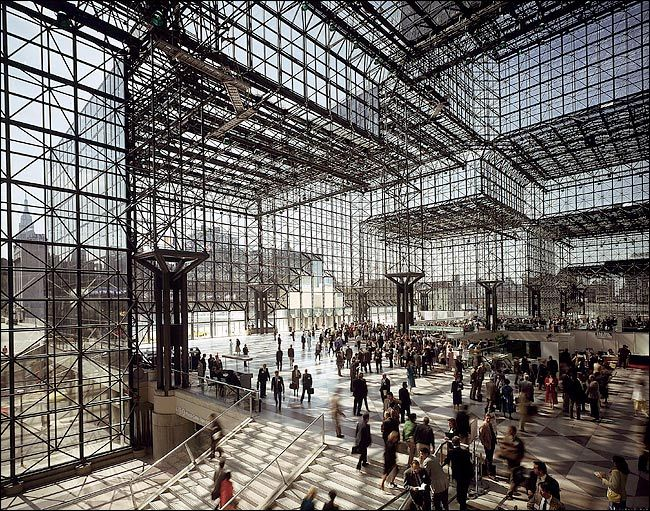 IM Pei, Javits Convention Center, 1986