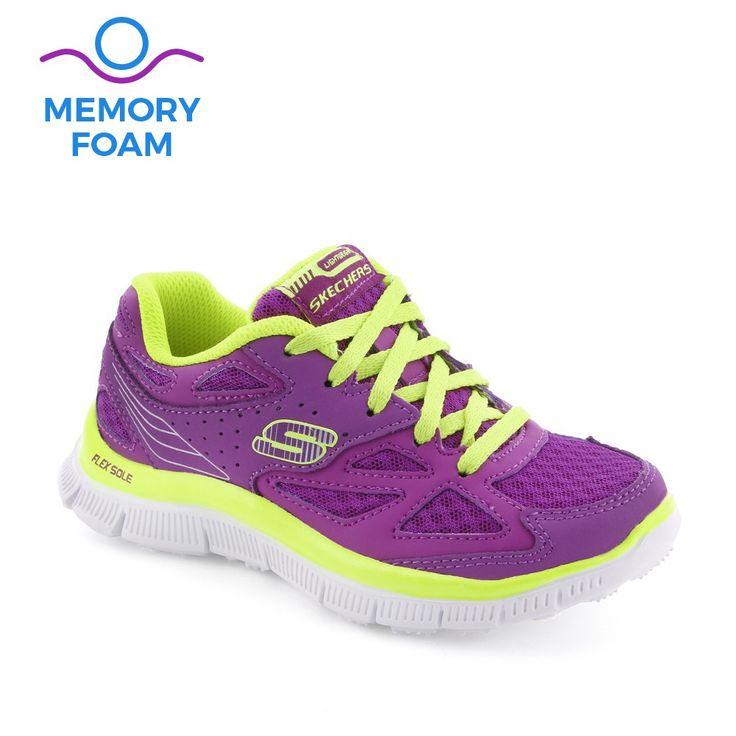 Pantofi sport fete Skech Align Purple - Skecher