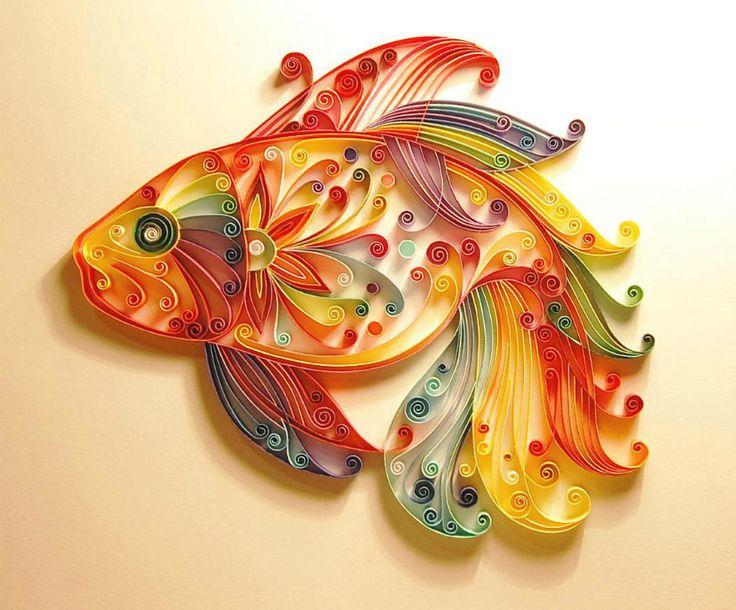 Göz Alıcı 18 Örnekle, Kağıt Sanatı Quilling Nedir?