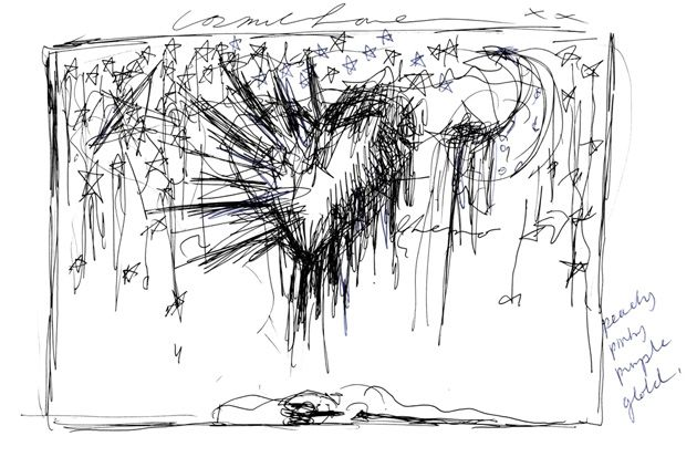 Selfridges FlorenceSketch Selfridges Launch Sounds of the Mind Window Displays