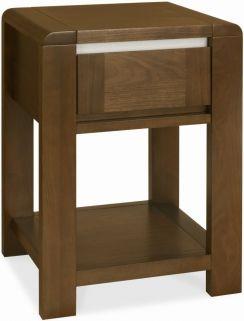 Bentley Designs Casa Walnut Lamp Table