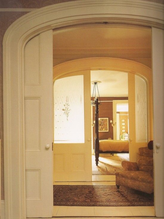 Superior Doors To Separate Two Rooms Part - 13: Traditional French Doors To Separate Two Living Rooms Design, Pictures,  Remodel, Decor And