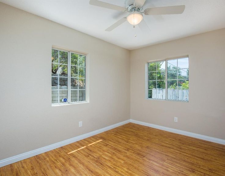 Freshly painted inside, this home also features dual pane windows, and copper plumbing.